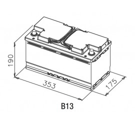 Batteria L5 100AH 800EN