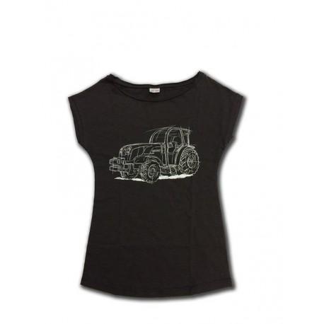 T-shirt donna trattore Carraro