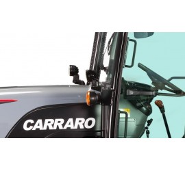 Decal on Carraro Tractors